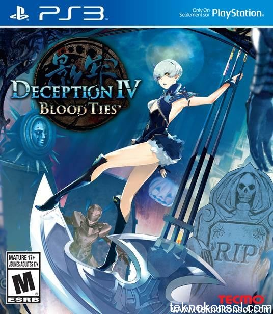 Deception IV Blood Ties cover PS3