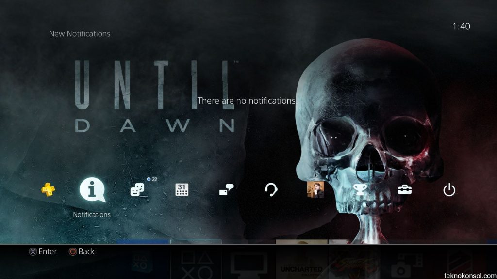 Until-dawn-dynamic-theme-ps4