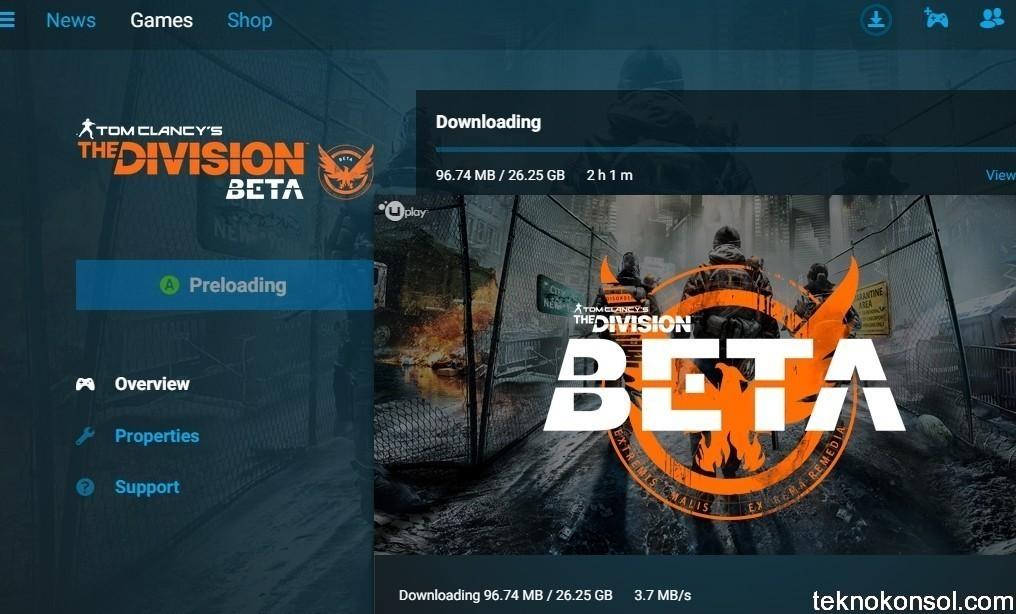 The Division'ın PC betasının boyutu 26 GB