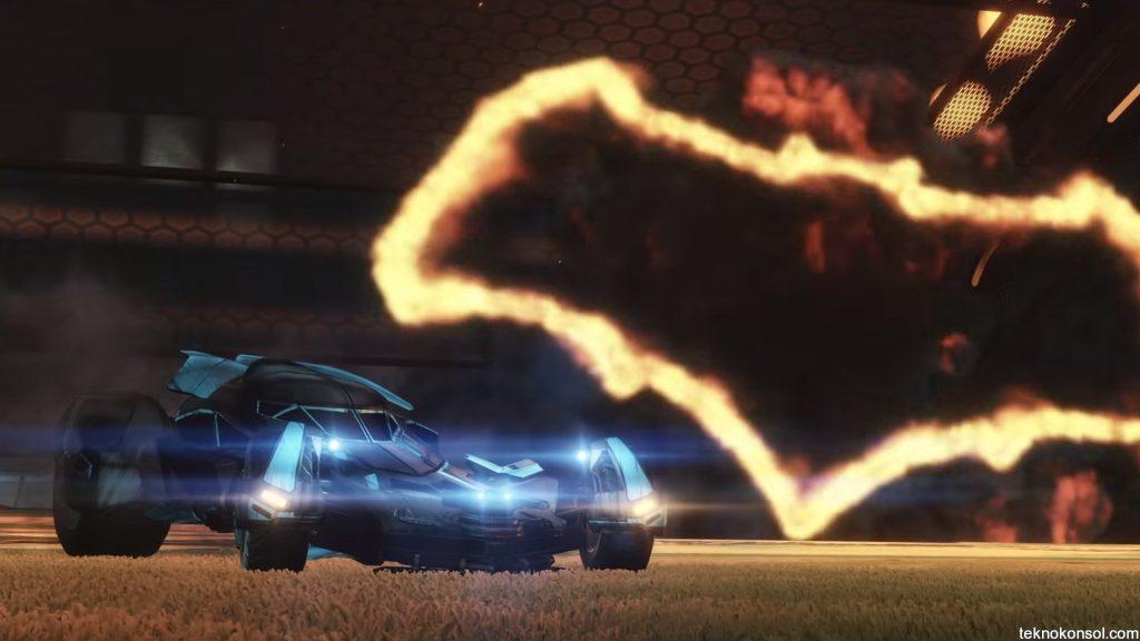 Rocket League'e Batmobile geliyor...