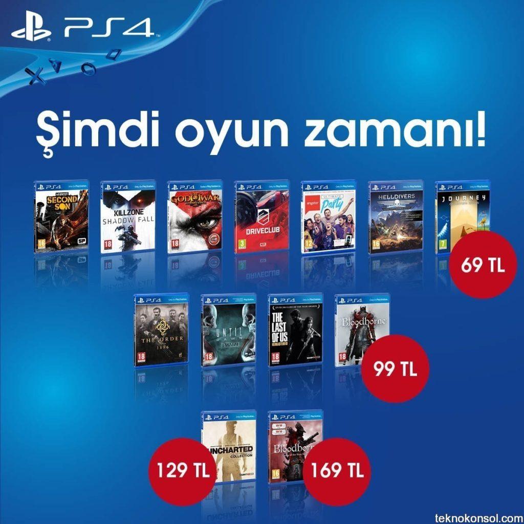 PS4 Oyunlarında Kaçırılmaz Fırsat