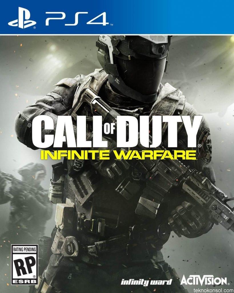 Call of Duty: Infinite Warfare'ın kapak tasarımı değişti