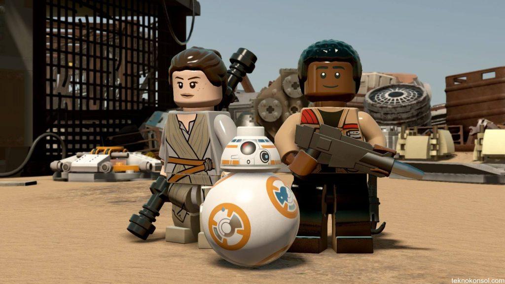 LEGO Star Wars: The Force Awakens'ın yeni tanıtım videosu yayınlandı