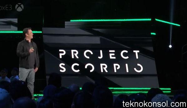Project Scorpio Duyuruldu