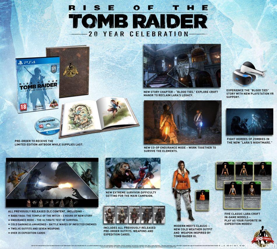 Rise of the Tomb Raider PS4 İçin Resmi Olarak Duyuruldu