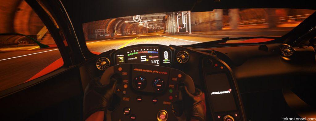 DriveClub VR'ın ilk oynanış videosu
