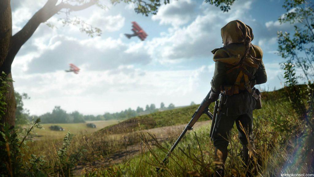Battlefield 1'in hikaye modunun ilk oynanış videosu
