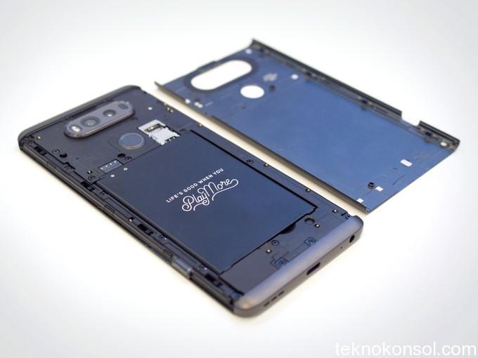 LG V20 batarya