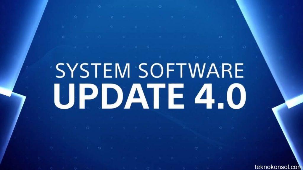 4.0 sistem güncellemesi