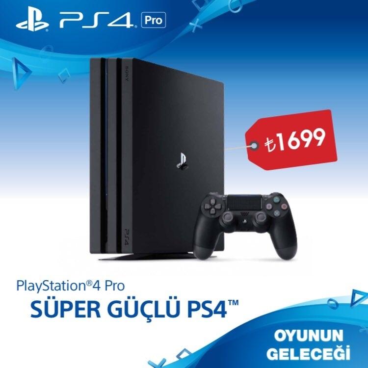 PS4 Pro Türkiye fiyatı