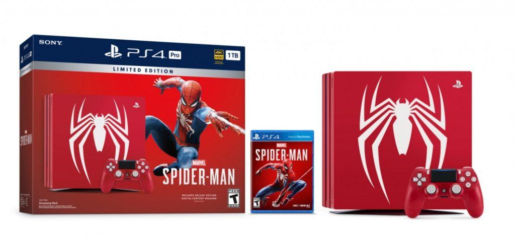 Spider-Man'e özel limitli sürüm PS4 Pro paketi duyuruldu