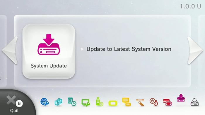 Wii U 5.5.3 sistem güncellemesi
