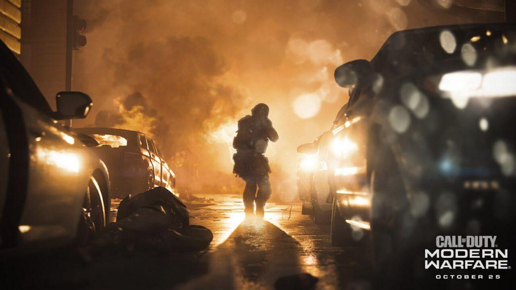 call of duty modern warfare çıkış fragmanı