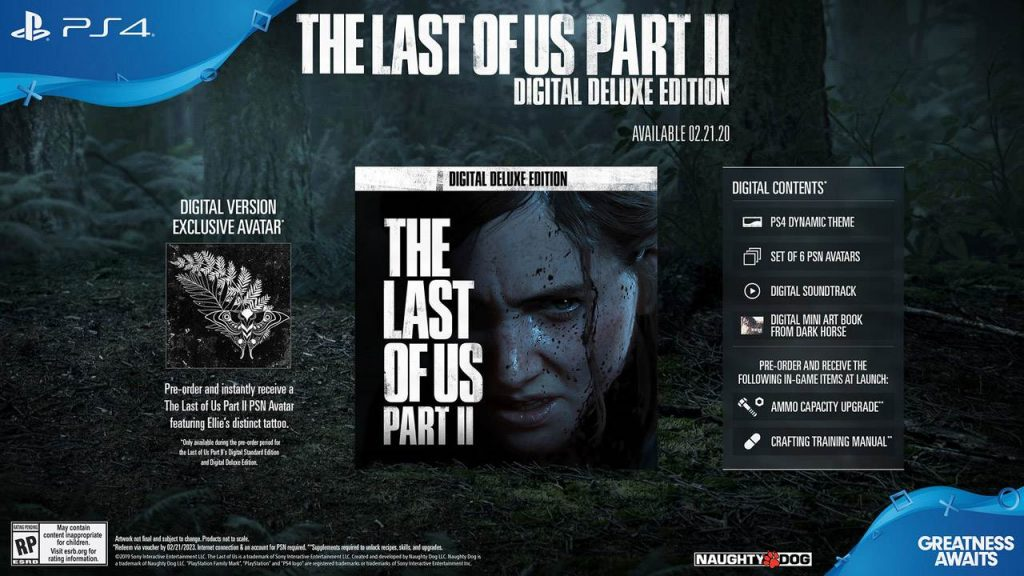 The Last of Part II Digital Deluxe Edition