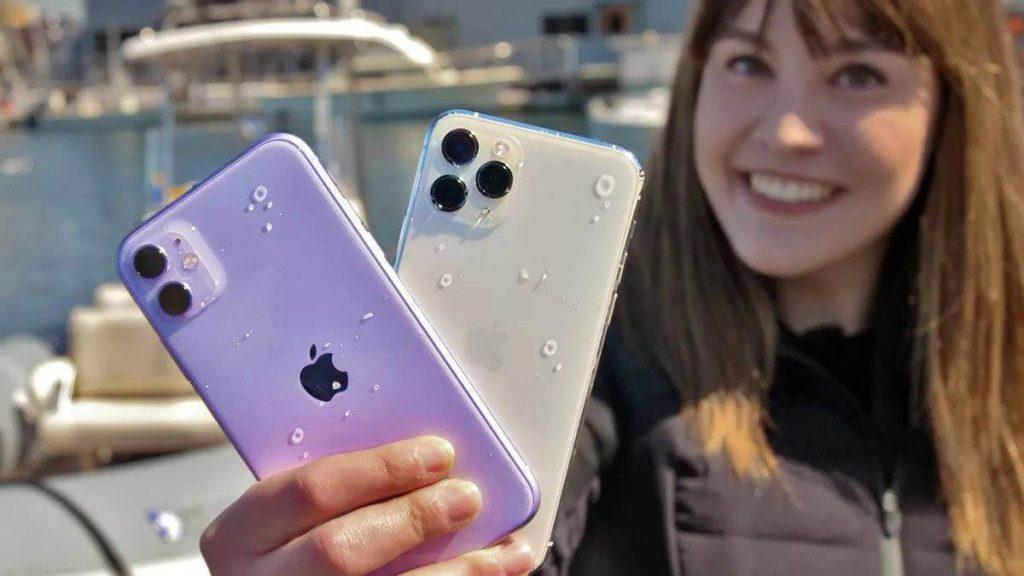 iphone 11 ve iphone 11 pro suya dayanıklılık testi