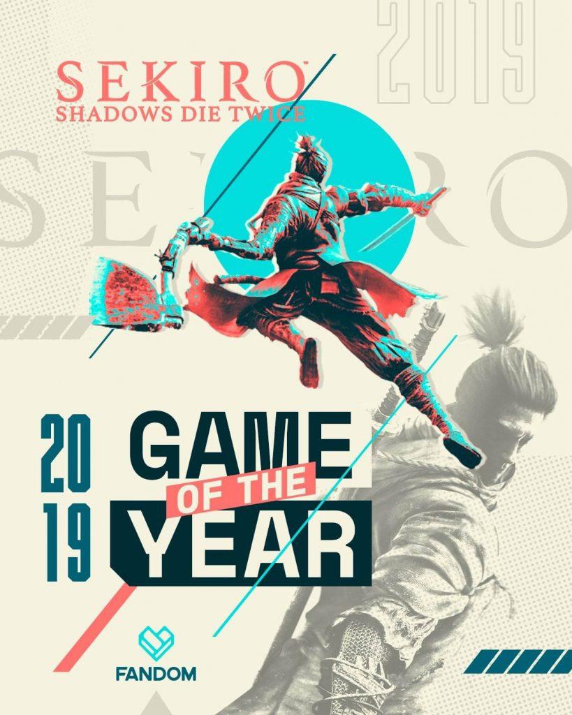 sekiro: shadows die twice yılın oyunu