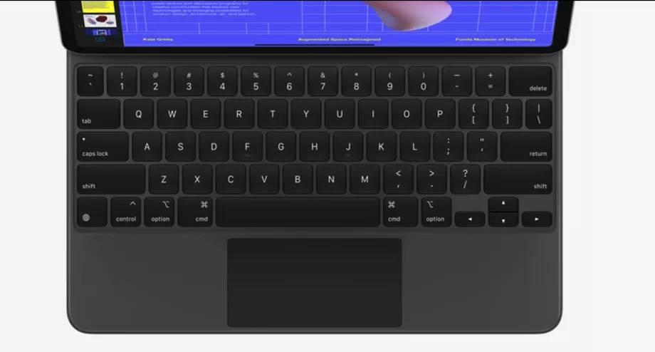 yeni ipad pro magic keyboard